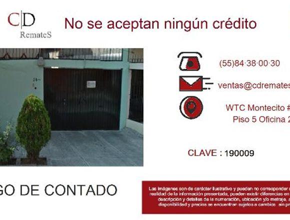 Grande casa Remate Bancario en Mixcoac