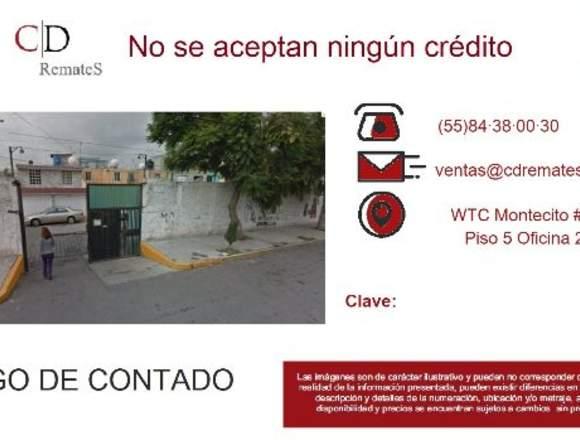 REMATE: Casa en Santa María Tulpetlac, Ecatepéc.