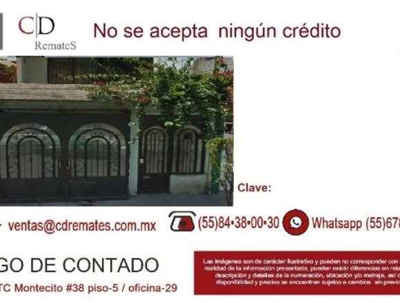 Remate  casa  Ecatepec, Edo Méx. CD- 190132