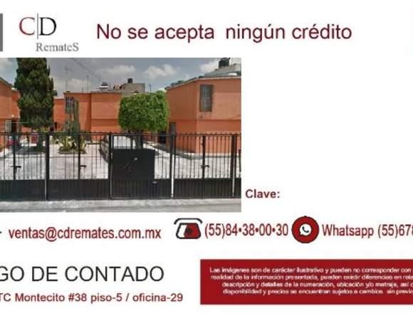 Oportunidad casa en remate en Ecatepec   CD 190133