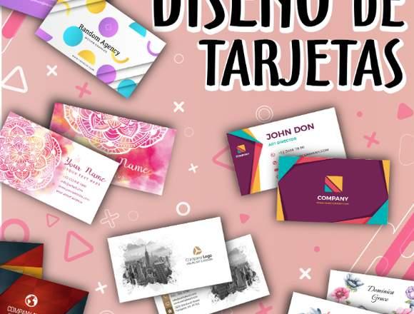 TARJETAS PERSONALES, DISEÑO DE TARJETAS