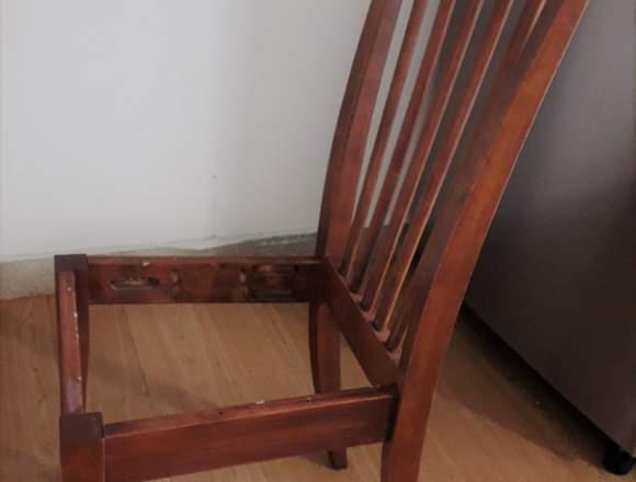 REMATO sillas de comedor de madera