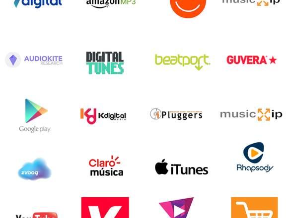 +300 Tiendas Online para Vender Tu Música (Clases)