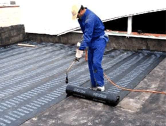 Mantenimiento a techos y terrazas
