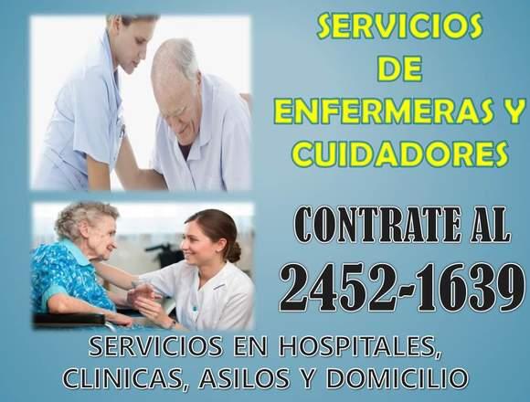 Enfermeras y cuidadores a domicilio CDMX