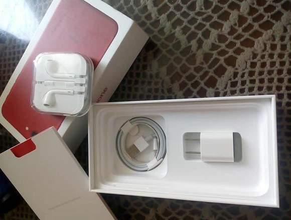 Iphone 7 plus rojo edición red de 128 gb