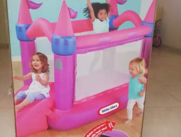 brinca brinca inflable para niña