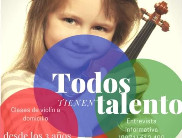 clases de violín a domicilio-método Suzuki