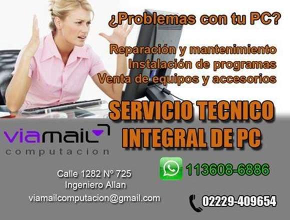 Servicio Técnico de PC, Notebook, Netbook y Tablet