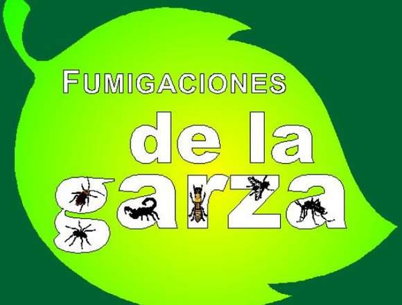 FUMIGACIONES DE LA GARZA.... 24 AÑOS NOS RESPALDAN