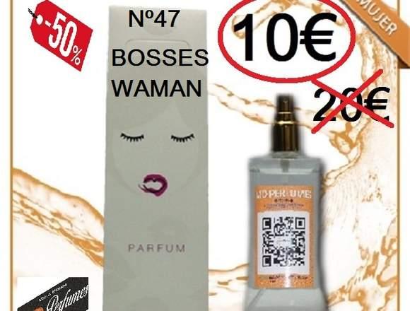 Perfume Alta calidad N 47 BOSSES MUJER equivalente