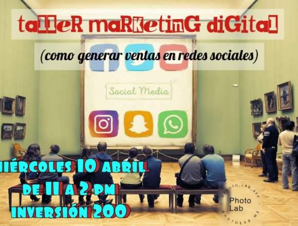 Taller de Marketing Digital para pequeños negocios
