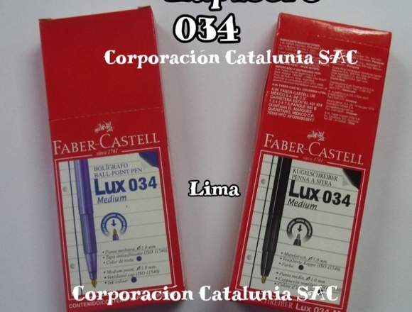 Venta de Lapiceros Faber Castell