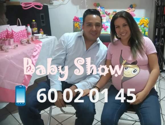 BABY SHOWER, PAQUETE ECONÓMICO TODO INCLUIDO