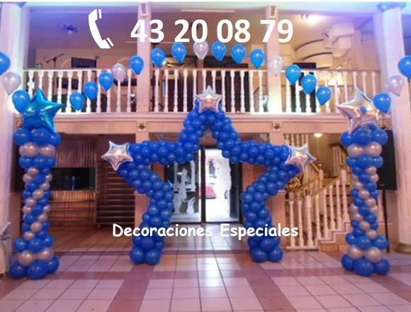 Decoraci n con globos y telas para xv a os anuto for Decoracion en telas y globos para 15 anos