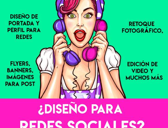 Diseño para redes sociales, flyers, banners, post,