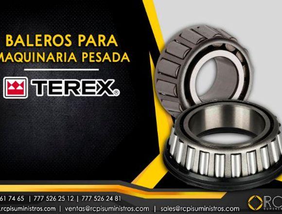 Baleros para maquinaria pesada Terex