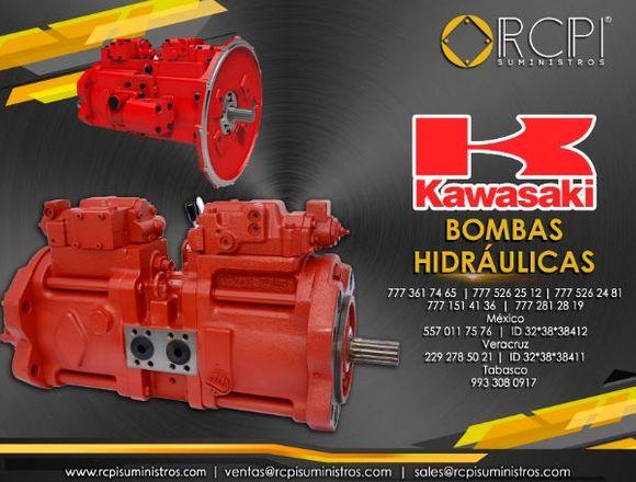 Refacciones y bombas Kawasaki para grúas