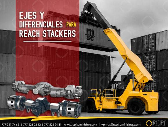 Ejes para reach stackers