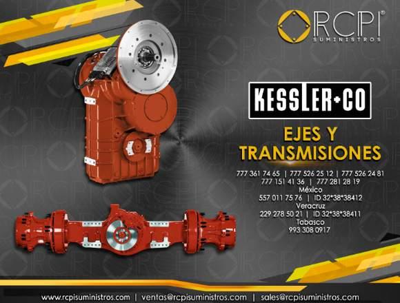 Transmisiones Kessler para grúas