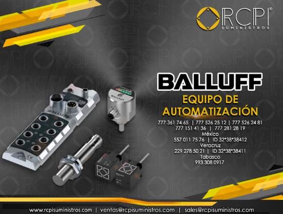 Equipos de automatización Balluff