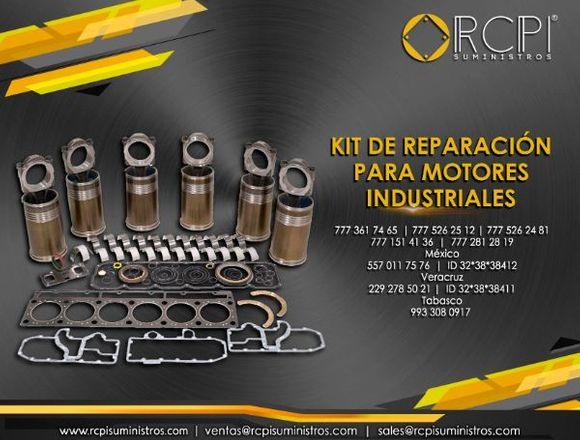 kit de reparacion para motores industriales