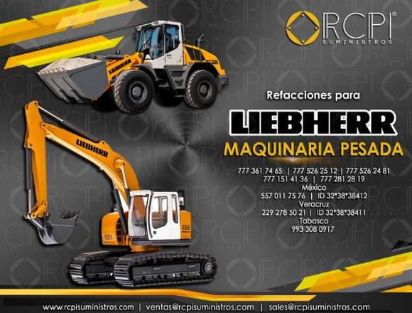 Repuestos para excavadoras Liebherr