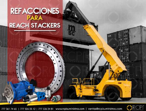 Repuestos para reach stackers