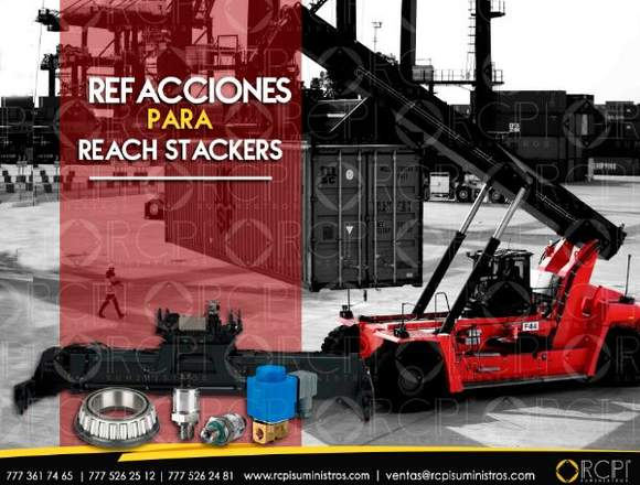 Refacciones para reach stackers