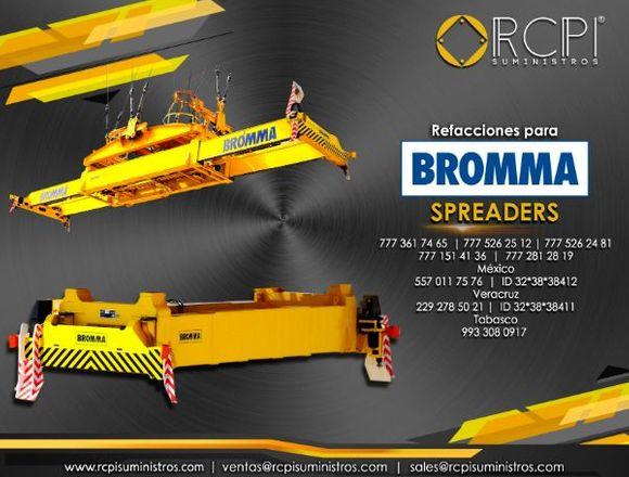 Refacciones para equipos Bromma