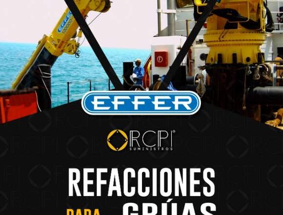 Repuestos para grúas marítimas Effer