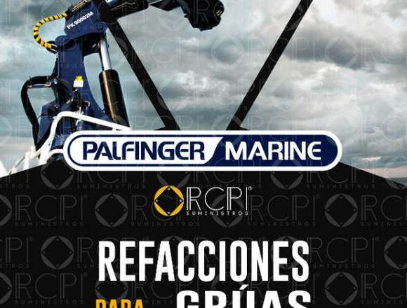 Repuestos para grúas marítimas Palfinger