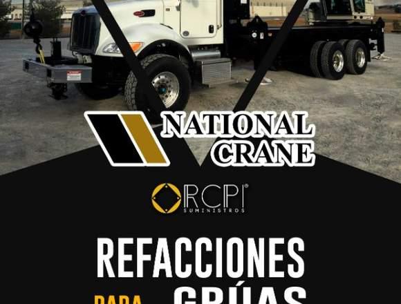 Repuestos para grúas industriales National Crane