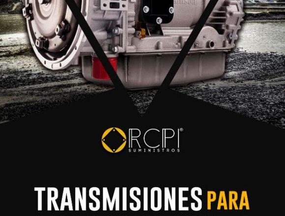 Transmisiones para maquinaria pesada