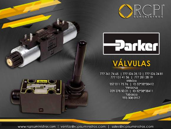 Válvulas parker para grúas industriales
