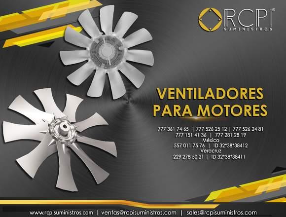 Ventiladores para motores diesel
