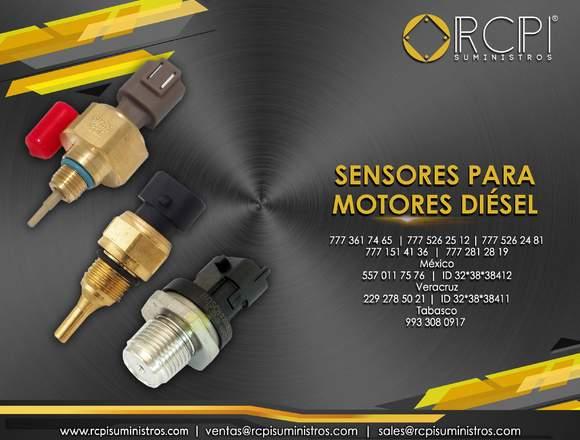 Sensores para motores de grúas industriales