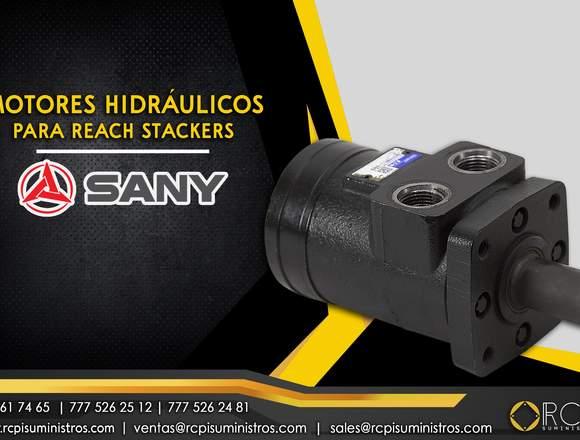 Motor hidráulico para reach stacker Sany