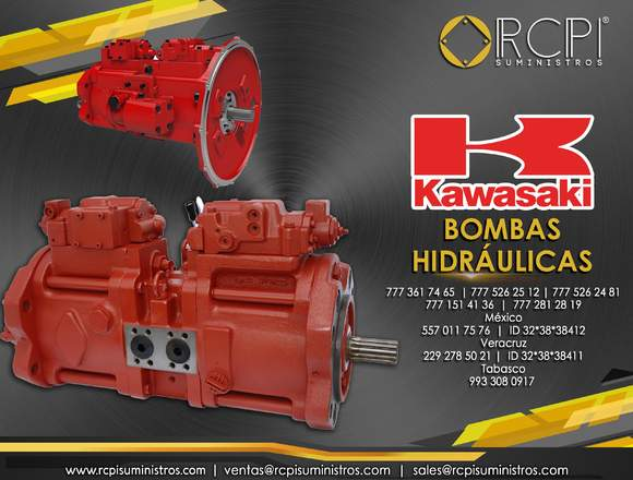 Bombas hidráulicas Kawasaki