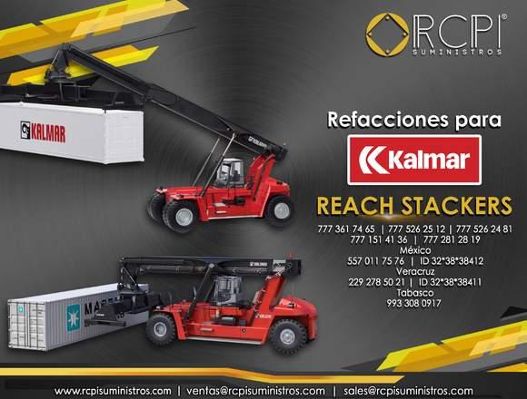Refacciones y partes para reach stackers kalmar