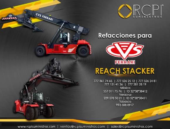 Refacciones y partes para stackers Ferrari