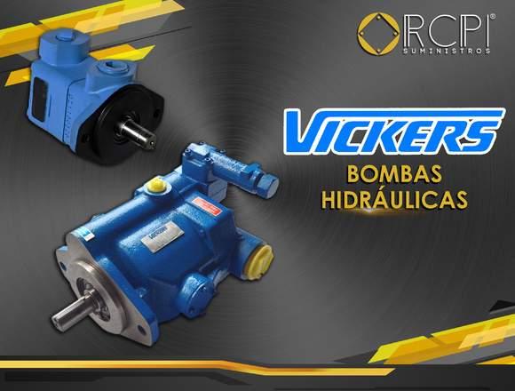 Bombas hidráulicas Vickers para grúas
