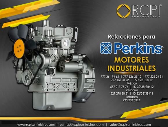 Refacciones para motores industriales Perkins