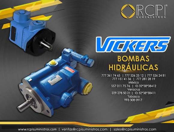 Bombas hidráulicas Vickers para grúas industriales