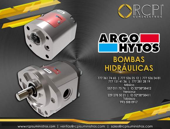 Bombas hidráulicas Argo Hytos