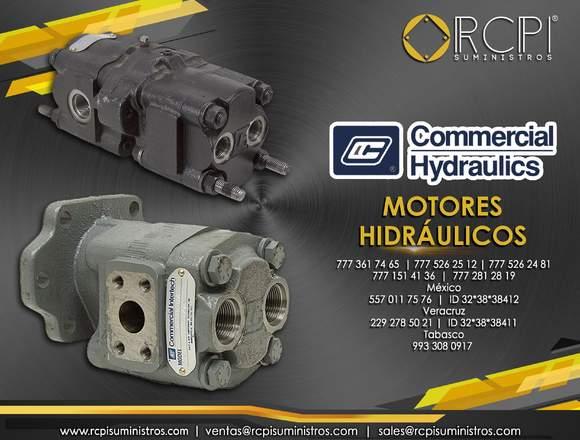 Motores hidráulicos Commercial Hydraulics