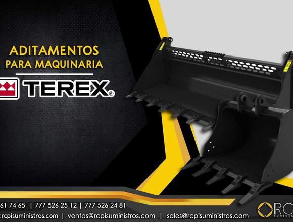 Cucharon para maquinaria pesada Terex