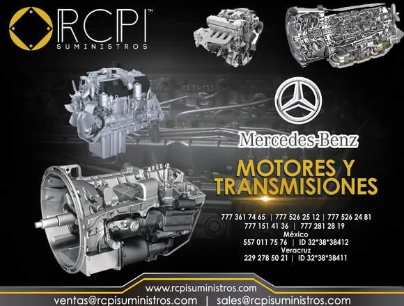 Transmisiones Mercedes Benz para grúas