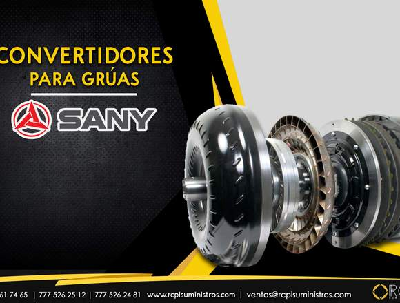 Convertidores para grúas industriales Sany