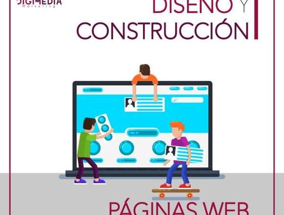 DISEÑO Y CONSTRUCCIÓN DE PÁGINA WEB